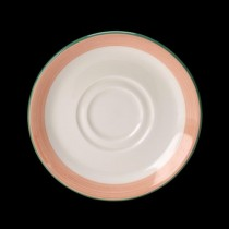 Steelite Rio Double Well Saucer Pink 145mm