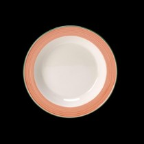 Steelite Rio Slim Soup Plate Pink 215mm