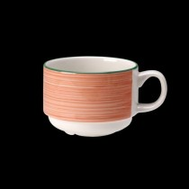Steelite Rio Stackable Slimline Cup Pink 200ml