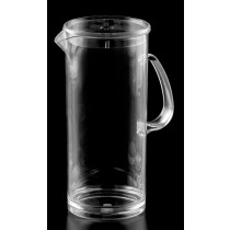 Image of Polycarb Jug Straight Sided 1.5Ltr With Lid