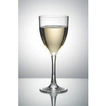 Image of Polysafe Wine Glass 250ml W&M Approved