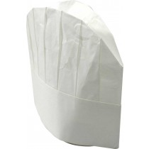 Image of Capri Chef Hat Paper Disposable 23cm