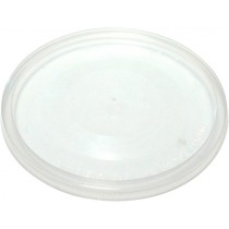 Round Takeaway Lid Clear To Suit 70ml - 100ml Round Containers 100/Pkt