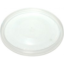 Round Takeaway Lid To Suit 220 - 850ml Containers 50/Pkt