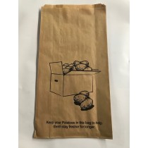 Bag Potato Printed 380 x 200 x 70mm 250/Pkt
