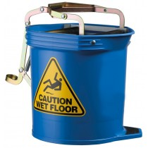 Image of Oates Mop Bucket Wide Mouth 16ltr Blue