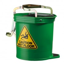 Image of Oates Mop Bucket Wide Mouth 16ltr Green