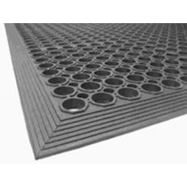 Image of Mat Safety Black Non Slip 1500L x 900W x 13mmH