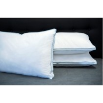 Pillow Classic Firm Blue Piping 6D 800gsm