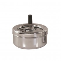 Ashtray Round S/S Wind Resistant 100mm (60)