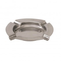 Ashtray Round S/S 125mm (12)
