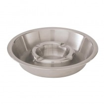 Image of Ashtray Double Well S/S 160mm