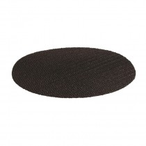 Image of Bar Mat Non Slip Round Black 300mm