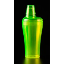 Image of Cocktail Shaker Polycarb Fluro Yellow 500ml