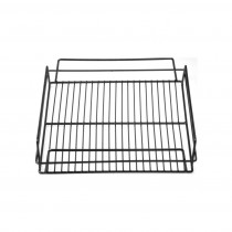 Glass Basket PVC 350 x 350 x 75mm Black