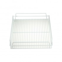 Image of Glass Basket PVC White 430 x 355 x 75mm