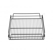 Image of Glass Basket PVC Black 430 x 355 x 75mm