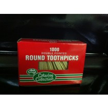Disposable Toothpick Double Ended 1000/Pkt (12)