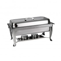 Image of Chafing Dish S/S 1/1 W/Folding Legs