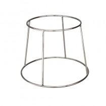 Image of Display Stand Round Chrome