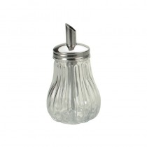 Image of Sugar Dispenser Glass Base & S/S Top Tilt A Spoon