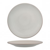 Zuma Coupe Plate Ribbed 265mm Mineral