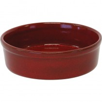 Image of Artistica Round Tapas Dish Reactive Red 110 x 30Mm