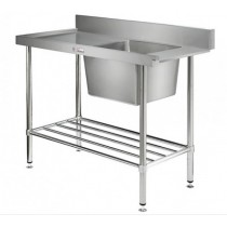 Simply Stainless 600 Series SS08.1650.L Dishwasher Inlet Bench Left Hand Feed