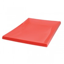 Image of Ryner Melamine Sushi Platter Red 395 x 265mm (6)