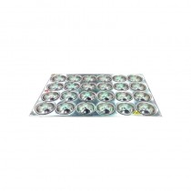 Image of Muffin Tin H.D Aluminium 24 Cup