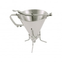 Image of Matfer Confectionary S/S Portion Funnel 1.9ltr With Stand