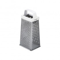 Grater S/S 4 Sided Plastic Handle 190mm High (12)