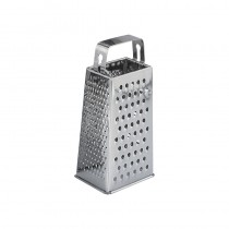 Image of Grater S/S 4 Sided S/S Strip Hdle 190mm High