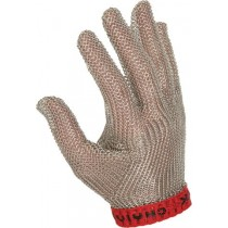 Image of Victorinox Glove Metal Mesh Chainex (White Band) Small