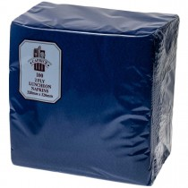 Caprice 2ply Lunch Napkin Dark Blue 100/Pkt