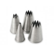 Image of Piping Nozzle Set 10pce S/S Star