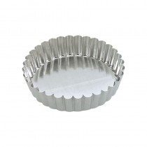 Quiche Pan Loose Base 100 x 30mm (25)