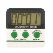 Timer Digital Large Digits 100 Minutes Magnetic (25)