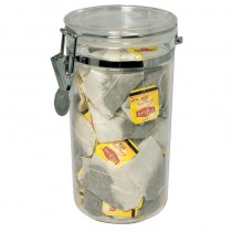 Clear Acrylic Storage Canister Round 1.1ltr