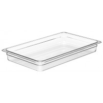 Cambro 12CW Food Pan 1/1 Size 65mm Clear