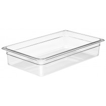 Cambro 14CW Food Pan 1/1 Size 100mm Clear