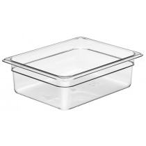 Cambro 24CW Food Pan 1/2 Size 100mm Clear