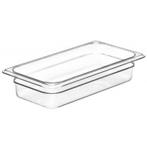 Cambro 32CW Food Pan 1/3 Size 65mm Clear