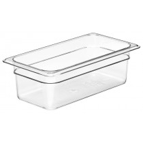Cambro 34CW Food Pan 1/3 Size 100mm Clear