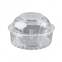 Image of Capri Food Bowl With Dome Lid 227ml 8oz