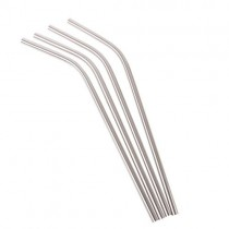 Appetito Stainless Steel Drinking Straw Bent