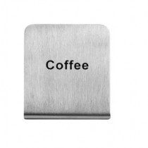 """Sign Buffet S/S """"Coffee"""""""