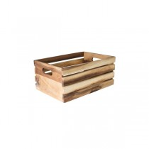 Moda Brooklyn Wood Crate Oil Finish 340 x 230 x 150mm