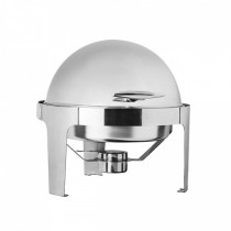 Chafing Dish Roll Top S/S Round (1)