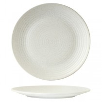 Zuma Frost Round Ribbed Plate 310mm 3/Pkt